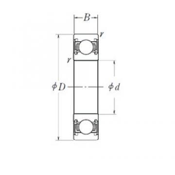 33 mm x 55 mm x 15 mm  NTN SC07A42LLSAC4/L588 Rolamentos de esferas profundas