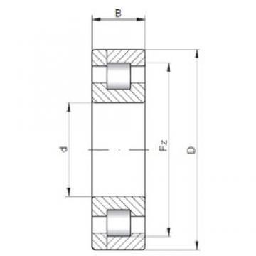 130 mm x 230 mm x 64 mm  ISO NP2226 Rolamentos cilíndricos