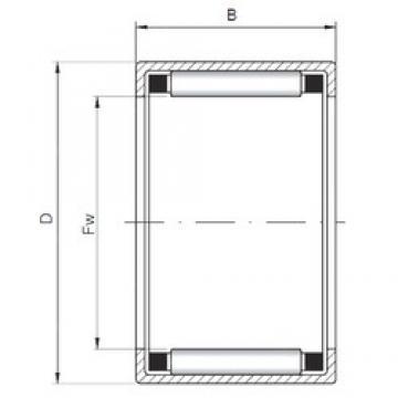 ISO HK5018 Rolamentos cilíndricos