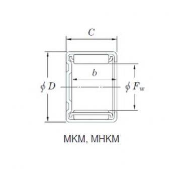 KOYO MHKM1212 Rolamentos de agulha