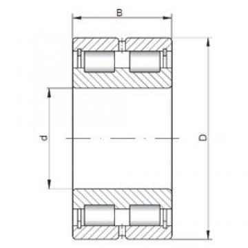 400 mm x 540 mm x 140 mm  ISO NNCL4980 V Rolamentos cilíndricos