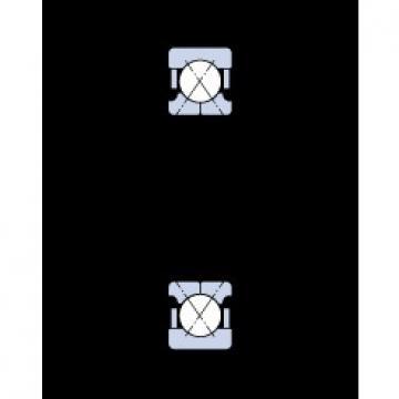 45 mm x 100 mm x 25 mm  SKF QJ 309 MA Rolamentos de esferas de contacto angular