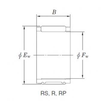 KOYO RS424727 Rolamentos de agulha