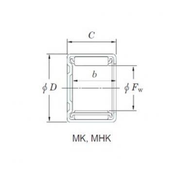 KOYO MK12101 Rolamentos de agulha