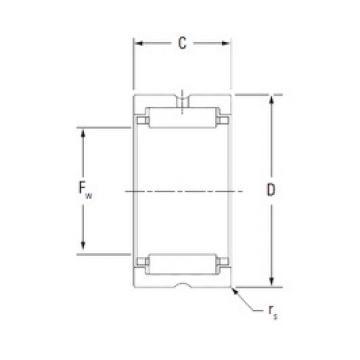 KOYO HJ-405224 Rolamentos de agulha