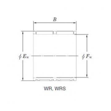 KOYO WR24/34 Rolamentos de agulha