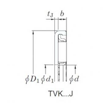 KOYO TVK3448J-1 Rolamentos de agulha