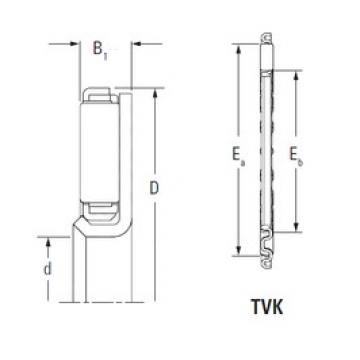 KOYO TVK3353L Rolamentos de agulha