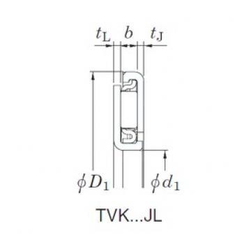 KOYO TVK5676JL Rolamentos de agulha